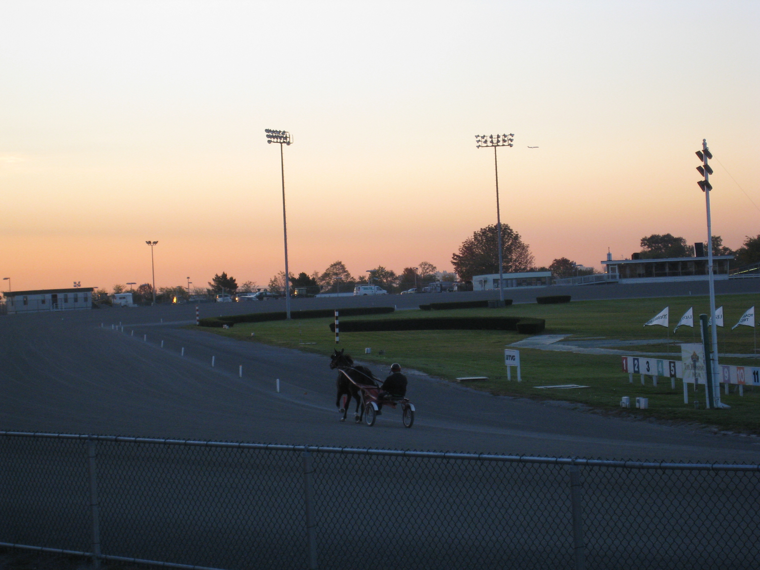 never B4 Yonkers Raceway